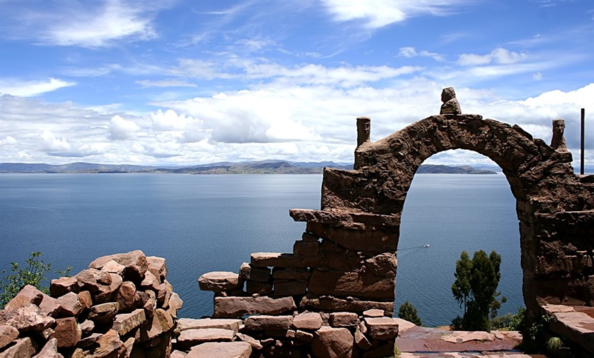 Isla del Sol on Lake Titicaca