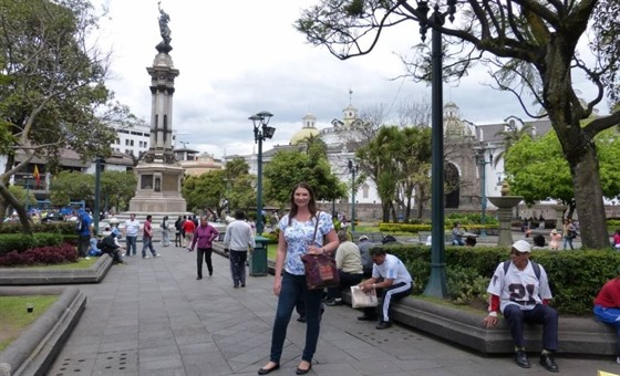 The Quito city tour