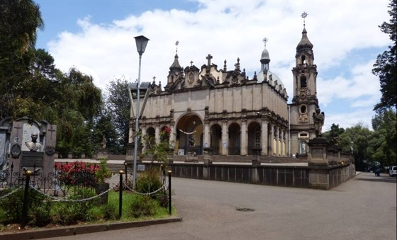Trinity Church in Addis Ababa
