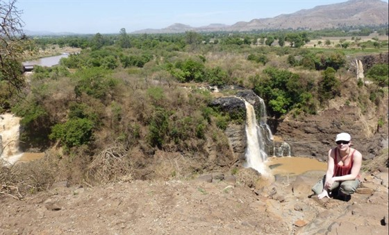 The Blue Nile Falls