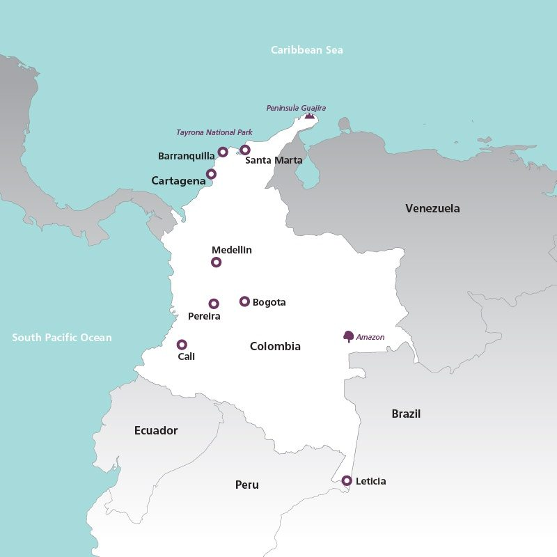 Colombia Holidays 2019 | Holidays to Colombia | Rainbow Tours