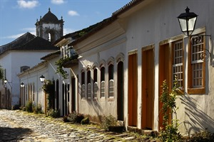 Paraty colonial streets