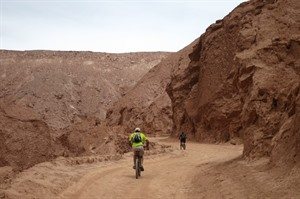 Bike riding in Moon Valley