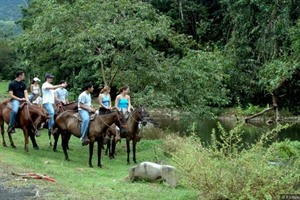 Horse ride to La Fortuna waterfall