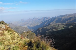 The 'Chess Pieces of the Gods' - Simien landscape (Helen)