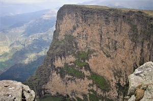 Dramatic scenery, Simien Mountains NP