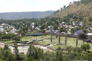 Town tour in Axum 4