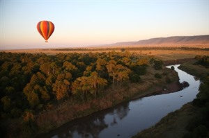 Hot Air Balloon ride over the Masai Mara 1