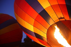 Hot Air Balloon ride over the Masai Mara 2