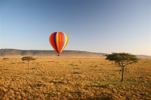 Hot Air Balloon ride over the Masai Mara 3
