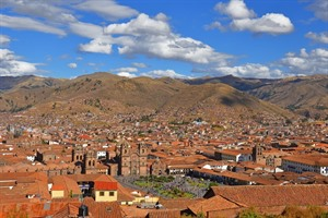 Ariel view of Cuzco