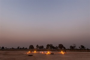 Sleep out under the stars in the South Luangwa at Luwi Camp 2