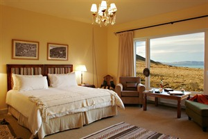 Bedroom with views at Eolo