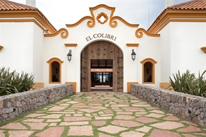 Entrance to Estancia El Colibri