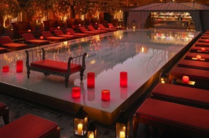 Relaxing at Faena Hotel & Universe