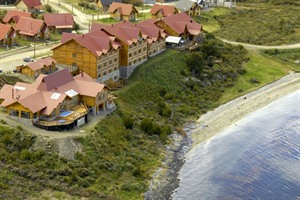 Aerial view of Los Cauquenes Hotel