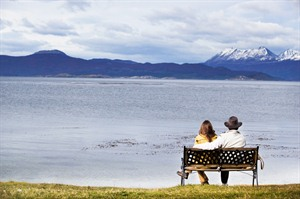 Romantic views whilst at Los Cauquenes Hotel