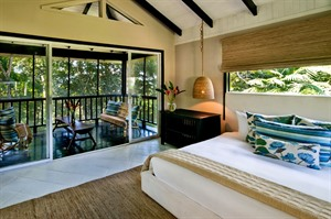 Bedroom at Copal Tree Lodge