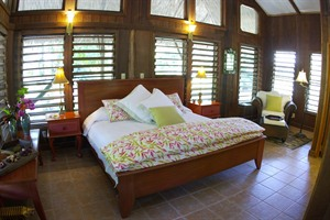 Bedroom at Chan Chich
