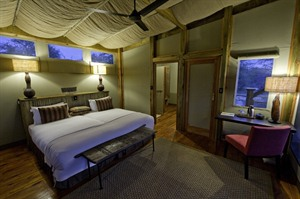 Room example in Kalahari Plains Camp