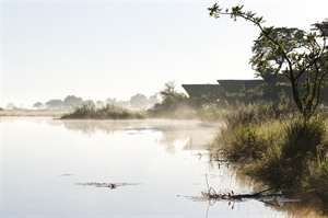 Morning Mist On The Lagoon