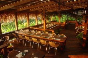 Lamanai Outpost Lodge, restaurant