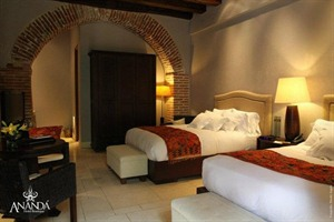 Colonial style rooms at Ananda Hotel Boutique