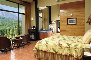 Bedroom at Arenal Kioro Suites & Spa