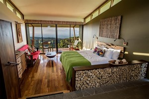 Bedrooms at Chayote Lodge