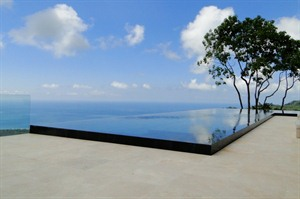 View from Kura Design Villas