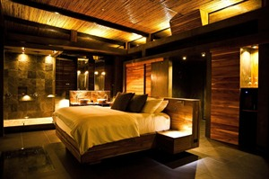 Bedroom at Kura Design Villas