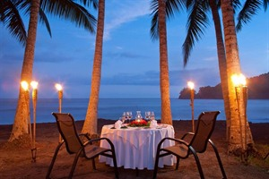 Punta Islita, dinners on the beach