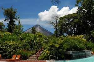 Volcano views, Tabacon Resort