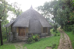 The Sidamo-styled en-suite rooms offer comfortable accommodation