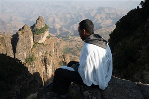 The walk to Saddique Amba Monastery can be completed  in 5 hours