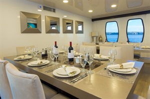 Alya Cruise Dining on a Galapagos holiday