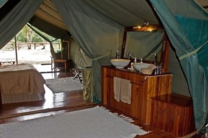 Room at Govenors' Private Camp