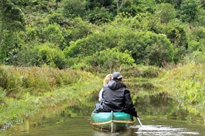 Guests can enjoy canoe trips while based at the hotel (Mike Unwin)