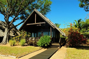 Anjajavy has 24 air-conditioned sea-facing villas