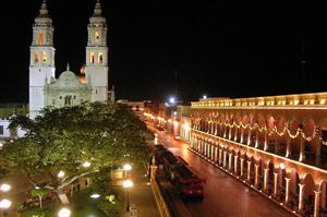 Campeche by night