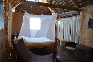 Bedroom at Iharana Bush Camp