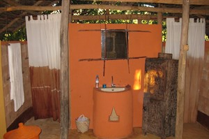 Bathroom at Iharana Bush Camp
