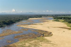 Aerial of Mandrare River