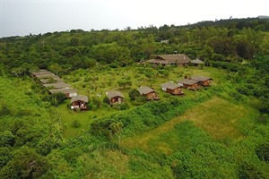Aerial view of Nature Lodge