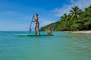 Water activities at Princesse Bora Lodge