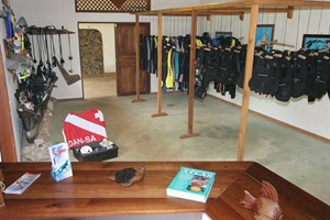 Sakatia Lodge has an excellent in-house aquasport centre