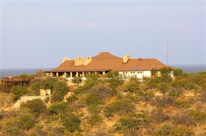 Exterior of Etosha Safari Lodge