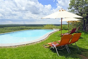 Pool at Etosha Safari Lodge
