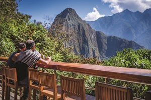 Belmond Sanctuary Lodge, views to Machu Picchu