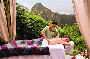 Belmond Sanctuary Lodge, spa treatments